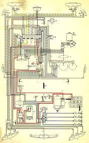 thesamba com type 3 wiring diagrams 1971 VW Super Beetle Wiring Diagram Vw Type 3 Wiring Diagram #19
