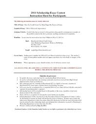 Example Of Scholarship Essay Research Paper Writing Financial Need Scholarship Essay