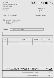 50 Beautiful Free Simple Invoice Template Australia - Invoice Template
