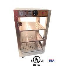 heatmax 14x14x24 food warmer display