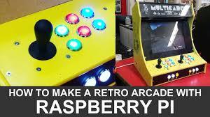 Raspberry Pi Game Cabinet How To Make A Diy Raspberry Pi Arcade Cabinet Youtube