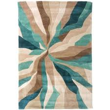 nebula rug in beige teal blue and brown liked on polyvore teal beige area rugs