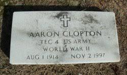 Aaron Clopton (1914-1997) - Find A Grave Memorial