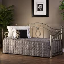 Milano Bedroom Furniture Milano Metal Daybed In Antique Pewter By Hillsdale Furniture