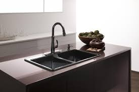 Bronze Kitchen Sink Faucets Single Handle Kitchen Faucet With Sprayer Kitchen How To Replace