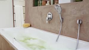 hansgrohe bathtub shower. bath tub usage example hansgrohe bathtub shower a