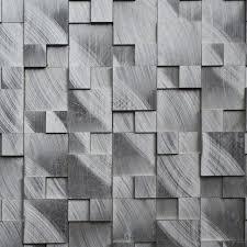 Metal floor tiles Brown Aluminum Alloy Metal 3d Mosaic Tiles Hmm1004 For Backsplash Kitchen Wall Sticker Bathroom Floor Tile Free Shipping Aliexpress Aluminum Alloy Metal 3d Mosaic Tiles Hmm1004 For Backsplash Kitchen