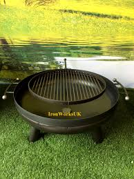 Fire Pit Swing The Space Brazier Swing Arm Grill Fire Pit Beautifully Hand Crafted