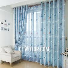 bedroom patterned blue
