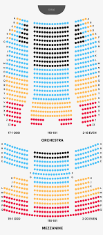 Bellco Theater Seating Chart August Wilson Theatre Seating Chart Png Image Transparent