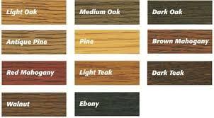 Ronseal Varnish Colour Chart Ronseal Floor Varnish Colours Google Search Wood Varnish