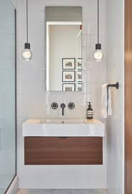 Bathroom pendant lighting Industrial White Ceramic Tiles By Waterworks Line The Bathroom Walls The Floors Also By Waterworks Dwell Best Modern Bathroom Pendant Lighting Design Photos And Ideas Dwell