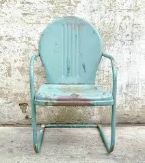retro metal lawn chair retro metal lawn chair teal rustic vintage porch furniture this would be