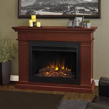 real flame kennedy grand electric fireplace lifestyle dark espresso