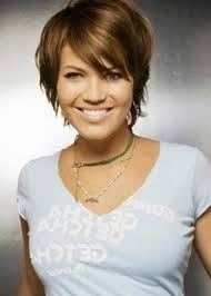 Short Hairstyles For Round Face 47 Inspiration 24 Lovely Pixie Haircuts Perfect For Round Faces Short Hair Styles