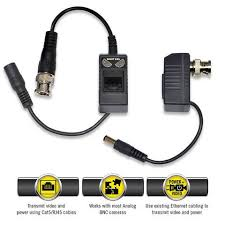 night owl passive video balun converter for security cctv systems key features