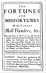 the early english novel moll flanders and clarissa life in moll flanders clarissa