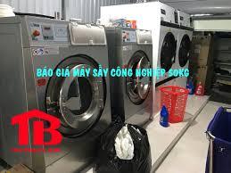 Báo giá máy sấy công nghiệp 50kg cho xưởng giặt là, khách sạn!!!