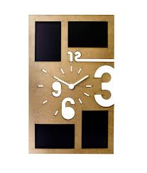 mad e in india photo frame wall clock