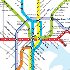 baltimore skyline Baltimore Transit Map why right rail is wrong, and right baltimore rapid transit map