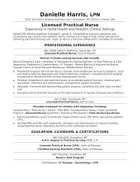 Lpn Nursing Resume Examples Unique Resumes Lvn Resume Examples New Grad Lpn Sample Socialumco