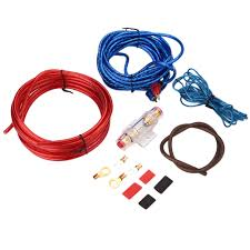 compare prices on car audio amp wiring kit online shopping buy car audio sound box amplifier amp wiring fuse holder wire cable kits protector