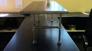 plumbing pipe desk large size of coffee table dimensions gas instructions