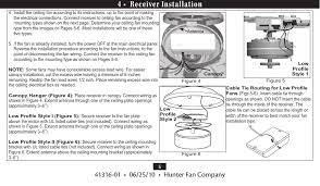 tx29 remote control for ceiling fan user manual hunter fan page 5 of tx29 remote control for ceiling fan user manual hunter fan