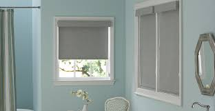 Bathroom Window Magnificent Bathroom Window Roller Blinds Pascalmesnier
