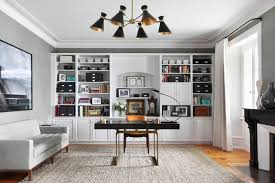 Design home office Compact 15 Elegant Transitional Home Office Designs To Motivate You Home Office Design Images One Kindesign 15 Elegant Transitional Home Office Designs To Motivate You Home