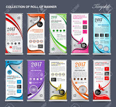 Advertising Flyers Samples Collection Of Roll Up Banner Design Stand Template Flyers Design