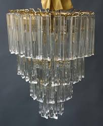 murano glass prism light chandelier picture 2