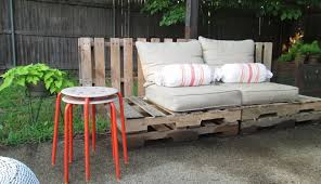 garden furniture made with pallets. Furniture:Awesome Diy Chair Pallet Outdoor Furniture Design With Brown Comfortable Tender Cover Also Garden Made Pallets L