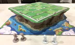 Game With Rocks And Wooden Board Beauteous Santorini Rocks As A 32player Board Game The Board Game Family