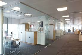 office space dividers. Full Size Of Clear Glass Office Room Dividers Design Ideas And Plans Brown Gray Wooden Laminate Space