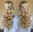 Prom hairstyles for long hair with braided headband