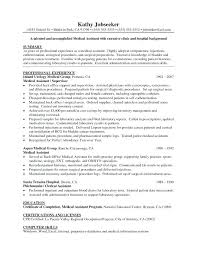 Medical Assistant Back Office Duties Medical Assistant Duties For Resume Blaisewashere Com