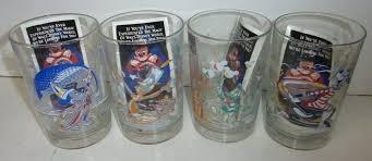 disney glasses details about vintage world anniversary collectors set frozen frames
