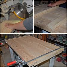 diy simple wood slab coffee table