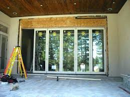 jeld wen folding patio doors folding patio door large size of glass doors patio french