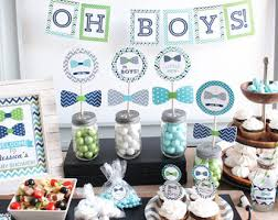 Twin Boys Baby Shower Decorations baby shower decor twin boys shower twin baby  shower twins shower