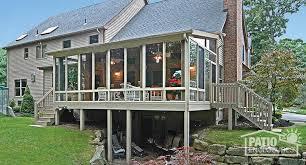 sandstone aluminum frame three season sunroom with single slope roof sunroom ideas photos