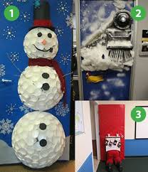 christmas office door decoration. Top Office Door Decorations Christmas Decoration 6