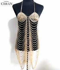 <b>Chran</b> New Fashion Silver Long Metal Belly Chains Tassel Waist ...