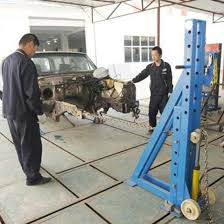 most endurable and strongest car body collision repair system with factory
