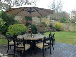 patio table with fire pit built in amazing of ice bucket patio table 5 round wine patio table with fire pit
