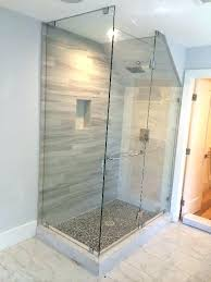 how to fix glass shower door how to install glass shower doors half glass shower door