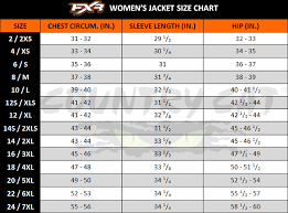 Fxr Snow Pants Size Chart Details About Fxr Womens Fresh Insulated Snowmobiling Jacket Black Mint Or Gray Purple