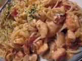 chicken pasta with sour cream and cheese sauce  zwt3 western