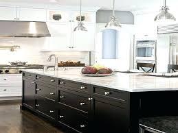 white or black kitchen cabinets white kitchen with dark island kitchen white cabinets dark island photo